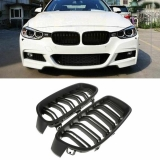 BMW 3SERIES 5SERIES E60 E90 F30 F10 M3 FRONT GRILL GLOSSY BLACK BODYKIT Exterior & Body Parts > Car body kits