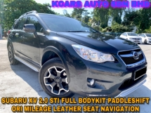 2015 SUBARU XV STi PERFORMANCE EDITION ORI PAINT FREE WARRANTY