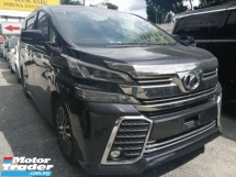 2016 TOYOTA VELLFIRE 2.5ZG Edition/FREE 5 YEARS WARRANTY/SUNROOF/PURPLE BLACK