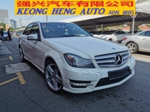 2014 MERCEDES-BENZ C-CLASS C200 AMG BLUE EFFICIENCY