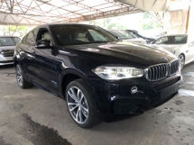 2016 BMW X6 Unreg BMW X6 3.0 40D Turbo Diesel SunRoof Harman Kardon PowerBoot Push Start M Sport 8G
