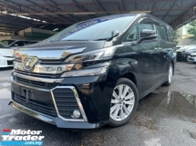 2016 TOYOTA VELLFIRE 2.5 ZA SUNROOF PRE CRASH BIG ALPINE 2 TONE LEATHER SEATS 7 SEATER UNREG