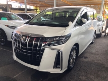 2018 TOYOTA ALPHARD Unreg Toyota Alphard SC 2.5 Pilot 7seats 360view PowerBoot Leather Seats LED Push Start Facelift 7G