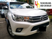 2016 TOYOTA HILUX 2016 Toyota HILUX 2.4 G VNT (A) FULL LEATHER SEAT PUSH START 1 OWNER