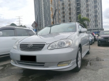 2006 TOYOTA ALTIS 1.6 E (A) CCRIS AKPK CAN LOAN ** BLACKLIST SAA CAN LOAN ** CTOS PTPTN CAN LOAN **
