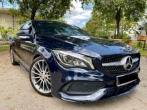 2017 MERCEDES-BENZ CLA 200 1.6 AMG CLA200 - FULL SPEC - LIKE NEW CAR - UNDER WARRANTY - FULL SERVICE REC - NEW FACELIFT - YEAR END SALE