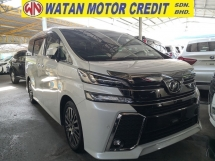 2016 TOYOTA VELLFIRE 2.5 ZG JBL THEATRE 360 CAMERAS SUNROOF PRE CRASH INC SST JAPAN UNREG