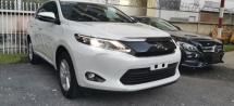 2014 TOYOTA HARRIER ELEGANCE 2.0 / ALPHINE / FULL LEATHER / TIPTOP CONDITION FROM JAPAN
