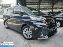 2016 TOYOTA VELLFIRE 2016 Toyota Vellfire 2.5 Golden Eye Power Boot 7 Seater 2 Power Door Unregister for sale