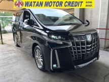 2018 TOYOTA ALPHARD 2.5 SA NEW FACELIFT NO HIDDEN CHARGES