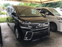 2015 TOYOTA VELLFIRE 2.5Z Edition MPV 7 Seat 2 Power Door 360 View Camera Power Boat
