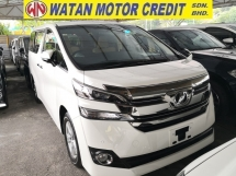 2015 TOYOTA VELLFIRE 2.5 X INC SST 360 CAM ANDROID MEDIA PLAYER POWER BOOT 8 SEATERS JAPAN UNREG