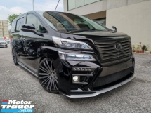 2018 TOYOTA VELLFIRE 2.5 Z FULL SILK BLAZE BODYKIT DEMO UNIT OFFER UNREG