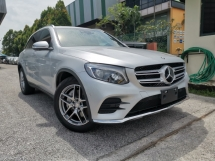 2016 MERCEDES-BENZ GLC 250 AMG 4MATIC SURROUND CAMERAS SILVER OFFER UNREG