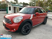 2015 MINI Countryman  COOPER 1.6(A) JAPAN UNREG BUY&WIN FREE 5 YEARS WARRANTY