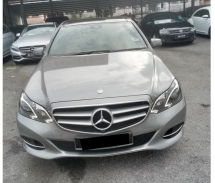 2013 MERCEDES-BENZ E-CLASS E250 CGI FACELIFT MODEL REGISTER 2014 PANORAMIC ROOF FULL SERVICE RECORD BY MERCEDES MALAYSIA