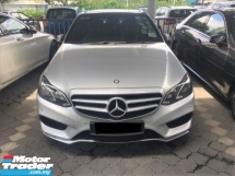 2015 MERCEDES-BENZ E-CLASS E300 AMG FULL SPEC BLUETEC HYBRID DIESEL FULL SERVICE RECORD BY MERCEDES MALAYSIA