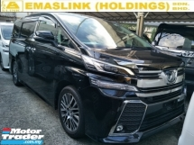 2016 TOYOTA VELLFIRE 2.5 FULL SPEC 360 CAMERA JBL SOUND SYSTEM POWER BOOT PRE CRASH STOP SYSTEM SUNROOF FREE WARRANTY