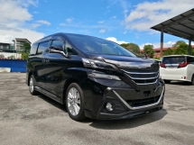 2015 TOYOTA VELLFIRE 2.5 ZA MODELLISTA AERO TOURER EDITION UNREGISTERED