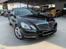 2013 MERCEDES-BENZ E-CLASS E250 CGI AVANTGARDE (7G-TRONIC) AMG SPEC FACELIFT MODEL