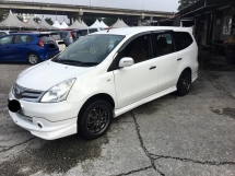 2012 NISSAN GRAND LIVINA 1.8 (A) One Malay Owner