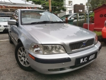 2001 VOLVO S40 2.0 (A) ORIGINAL PAINT