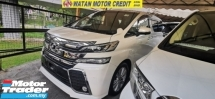 2016 TOYOTA VELLFIRE 2.5 ZA Z UNREG.FULLSPEC.INCLUDED SST.TRUE YEAR CAN PROVE.SUNROOF.7 SEAT.3 POWER DRS N BOOT.360 CAMERA.BODYKIT.XENON LAMP.ALPHINE MONITOR N ETC.FREE WARRANTY N MANY GIFTS