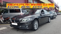 2014 BMW 5 SERIES 520i FACESLIT (A) REG 2014, ONE CAREFUL OWNER, FULL SERVICE RECORD, LOW MILEAGE DONE 77K KM, UNDER BMW WARRANTY UNTIL DECEMBER 2019