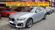 2016 BMW 1 SERIES 120i 1.6cc M SPORT (A) REG 2016, ONE CAREFUL OWNER, FULL SERVICE RECORD, LOW MILEAGE DONE 47K KM, UNDER BMW WARRANTY UNTIL MARCH 2021, 18