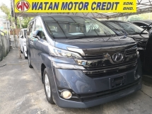 2015 TOYOTA VELLFIRE 2.5 X INC SST ANDROID MEDIA PLAYER 360 CAMERAS POWER BOOT 1 POWER DOOR 7 SEAT JAPAN UNREG