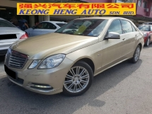 2011 MERCEDES-BENZ E-CLASS E200 1.8 (A) (CKD Local Spec)