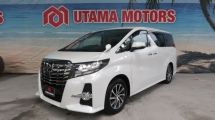 2016 TOYOTA ALPHARD 2.5 S 8 SEATER LEATHER SEATS YEAR END SALE SPECIAL BEST DEAL FAST APPROVAL