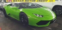 2015 LAMBORGHINI HURACAN LP610 4 LIFTING NO HIDDEN CHARGES