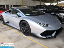 2017 LAMBORGHINI HURACAN LP610 4 LIFTING AEROKIT NO HIDDEN CHARGES