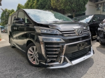 2018 TOYOTA VELLFIRE 2.5 ZA MODELLISTA DIM BLACK OFFER UNREG