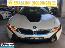 2015 BMW I8 1.5 COUPE (PLUG-IN HYBRID) TURBOCHARGED HUD FULL VIEW CAMERA