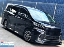 2015 TOYOTA VELLFIRE 2.5 (A) ZG Edition + SUNROOF & MOONROOF + PILOT SEATS + ADMIRATION BODYKITS + UNREGISTERED JAPAN PREMIEM SPEC