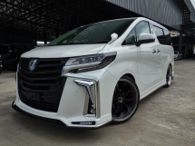 2018 TOYOTA ALPHARD 2.5 SC ZUES Full Package Unreg Sale Offer