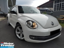 2014 VOLKSWAGEN BEETLE 1.4L PREMIUM CBU HIGH SPEC ONE OWNER LOW MILEAGE HIGH SPEC TIPTOP CONDITION