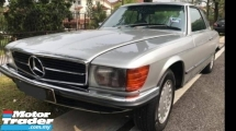 1973 MERCEDES-BENZ SL-CLASS SLC 350 2 DOOR CLASSIC COUPE COLLECTER ITEM REGISTER 1997