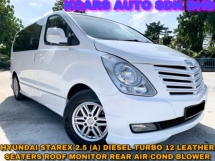 2011 HYUNDAI GRAND STAREX 2.5 ROYALE LEATHER SEAT 12 SEATERS REAR AIRCOND