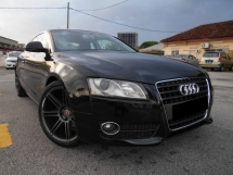 2009 AUDI A5 TFSI COUPE S-LINE SPORTBACK(A)2 DOOR GOOD CONDITION LOW MLEAGE LIKE NEW ACCIDENT FREE AND 1 CAREFUL OWNER