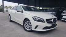 2016 MERCEDES-BENZ A-CLASS 2016 Mercedes A180 SE Facelift Radar Safety System Blind Spot LKA Japan Spec Unregister