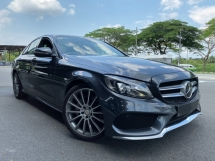 2015 MERCEDES-BENZ C-CLASS C200 AMG (HUD, PanRoof, PBoot, Burmester, Full Leather)