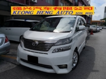 2010 TOYOTA VELLFIRE 3.5 ZG Pilot Seat Edition TRUE YEAR MADE 2010 with Home Theater Bodykit and 3 Surround Cameras 2014