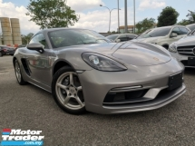 2018 PORSCHE CAYMAN 718 2.0 SPORTCHRONO BOSE SOUND SILVER OFFER UNREG