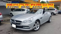 2012 MERCEDES-BENZ SLK SLK200 BLUE EFFICIENCY 1.8cc CGI (A) REG 2016, JAPAN SPEC, ONE CAREFUL OWNER, LOW MILEAGE DONE 46K KM, FREE 1 YEAR WARRANTY ENGINE & GEARBOX, 17