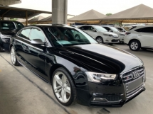 2015 AUDI S5 3.0 Quattro all wheel drive 333hp high power auto off electric seat cruise control unregistered