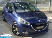 2013 PEUGEOT 208 ALLURE VTI 1.6 AT Hatchback(TRUE YEAR MAKE)(2 YEAR WARRANTY)(LOW MILEAGE)(ONE OWNER)
