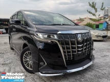 2018 TOYOTA ALPHARD 3.5 GF NEW FACELIFT FULL SPEC ORIGINAL BODYKIT 12KM MILEAGE UNREG